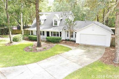 Gainesville Single Family Home For Sale: 11511 NW 13th Lane