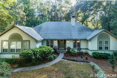 Gainesville Single Family Home For Sale: 8821 SW 45TH Boulevard