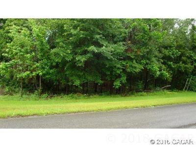 Alachua Residential Lots & Land For Sale: NW 141 Street