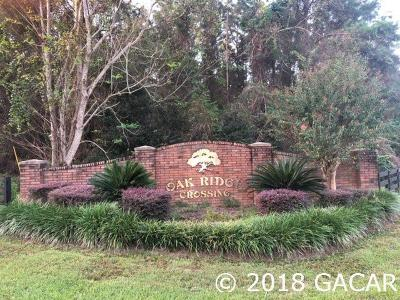 Alachua Residential Lots & Land For Sale: 13009 NW NW 145 Terrace