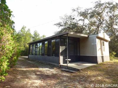 Williston Single Family Home Pending: 4931 NE 140 Court