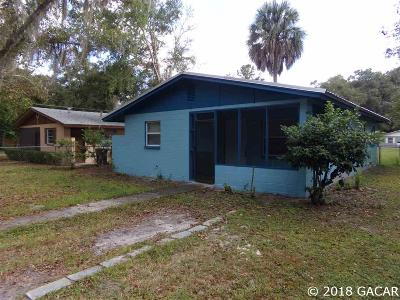 Gainesville Single Family Home For Sale: 2137 NE 7th Place