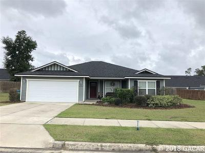 Newberry Single Family Home For Sale: 25609 NW 9TH Avenue