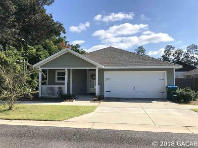 Newberry Single Family Home For Sale: 399 SW 251ST Street