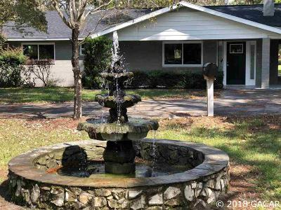 High Springs Single Family Home For Sale: 5480 NE 51 Avenue