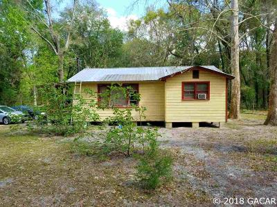 High Springs Single Family Home For Sale: 16619 NW State Road 45