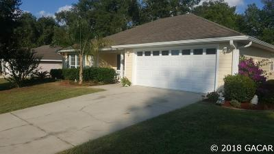 Newberry Single Family Home Pending: 927 NW 254th Drive