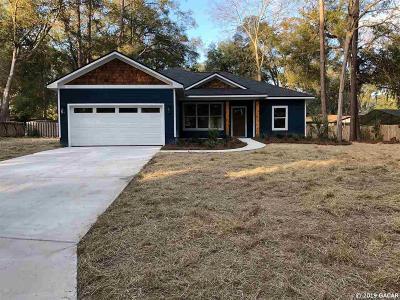 Alachua Single Family Home For Sale: 12004 NW 164th Terrace