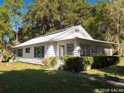 Micanopy Single Family Home For Sale: 104 NE 2nd Avenue