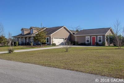 High Springs Single Family Home For Sale: 25263 NW 140th Lane