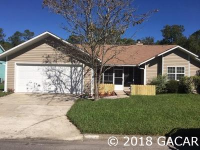 Gainesville Single Family Home For Sale: 2252 NW 41 Place