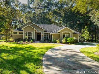 Gainesville Single Family Home For Sale: 6711 Millhopper Road