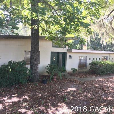 Gainesville Single Family Home For Sale: 10907 SW 24th Avenue