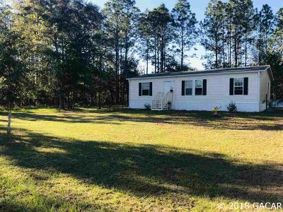 High Springs Single Family Home For Sale: 7958 NE 24 Loop