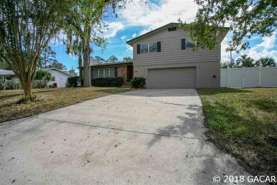 Gainesville Single Family Home For Sale: 4421 NW 18TH Place