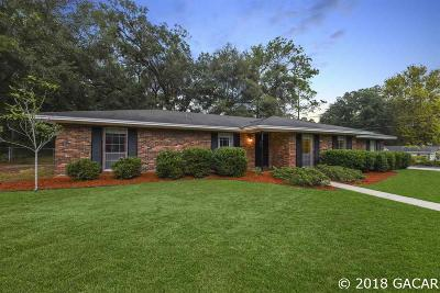 Gainesville Single Family Home For Sale: 3622 NW 46TH Place