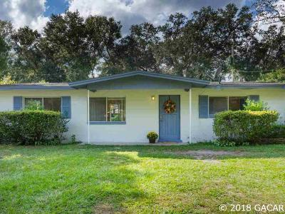 Gainesville FL Single Family Home For Sale: $105,000