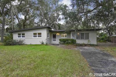 Gainesville Single Family Home For Sale: 2214 NE 7th Street
