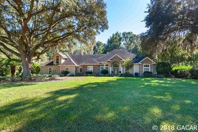 Gainesville Single Family Home For Sale: 13835 NW 15th Lane