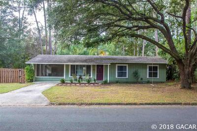 Gainesville Single Family Home For Sale: 6018 NW 27th Terrace