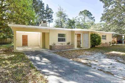Gainesville Single Family Home For Sale: 1906 NW 37th Boulevard