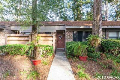 Gainesville Condo/Townhouse For Sale: 3405 NW 52nd Terrace