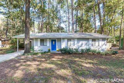 Gainesville Single Family Home For Sale: 4327 NW 30 Terrace