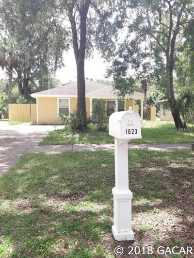 Gainesville FL Single Family Home For Sale: $139,500