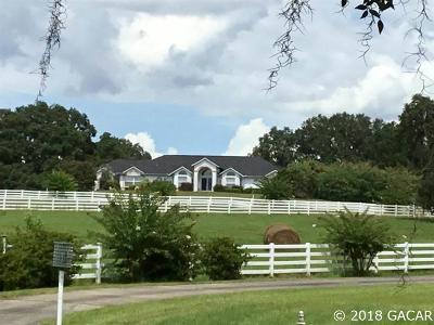 Reddick Single Family Home For Sale: 15501 W HWY 329