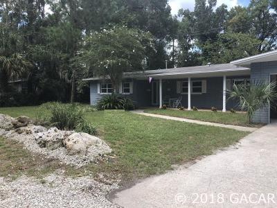 Gainesville FL Single Family Home For Sale: $340,000