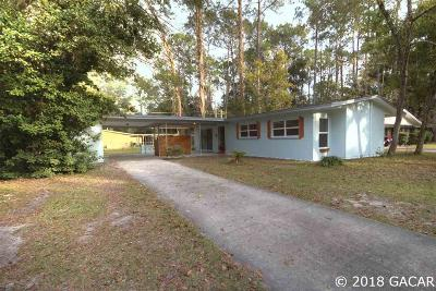 Gainesville Single Family Home For Sale: 1709 NE 15th Street