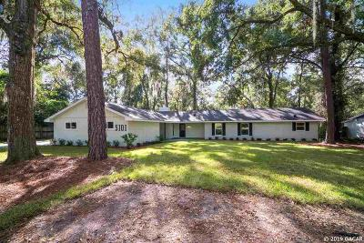 Gainesville Single Family Home For Sale: 5101 NW 4th Place