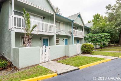 Gainesville FL Condo/Townhouse For Sale: $97,500