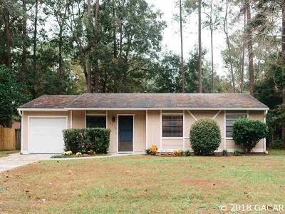 Gainesville Single Family Home For Sale: 4312 NW 27th Drive