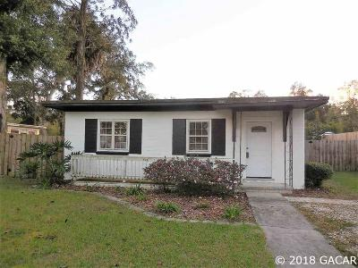 Gainesville Single Family Home For Sale: 501 NW 28th Avenue