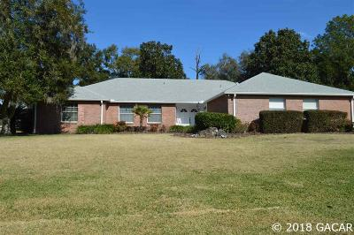Alachua Single Family Home For Sale: 6306 NW 105th Avenue