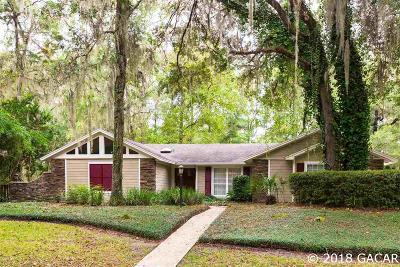 Gainesville Single Family Home For Sale: 4240 NW 77TH Terrace