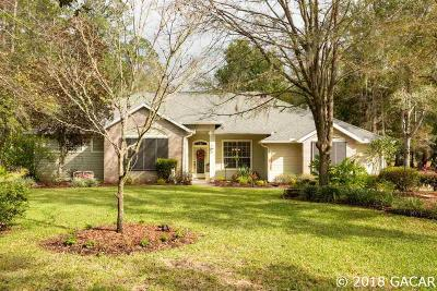 Gainesville Single Family Home For Sale: 6851 NW 40TH Drive
