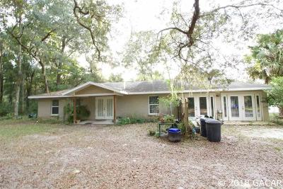 Chiefland Single Family Home For Sale: 8490 NW 120th Street