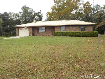 Newberry Single Family Home For Sale: 2120 NW State Rd 45 Road