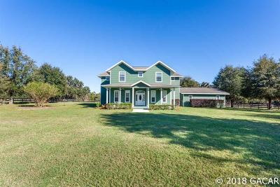 Micanopy Single Family Home For Sale: 6446 SE 169 Avenue