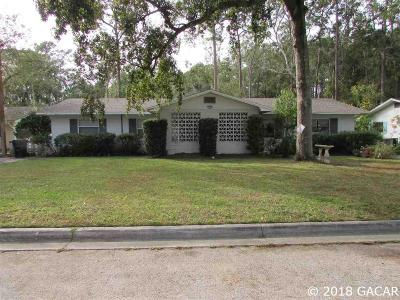 Gainesville Multi Family Home For Sale: 3716 NW 45th Street #A &