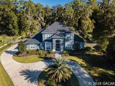 Gainesville FL Single Family Home For Sale: $1,400,000