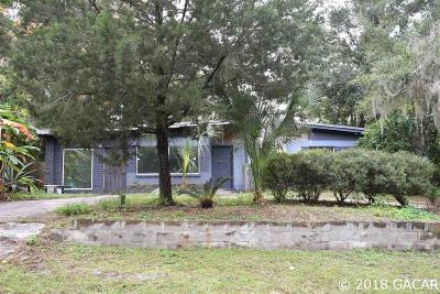 Gainesville FL Single Family Home For Sale: $34,125