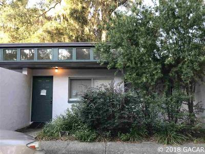 Gainesville Condo/Townhouse For Sale: 747 SE 2nd Place #9