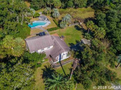 Gainesville Single Family Home For Sale: 8000 NW 2nd Court