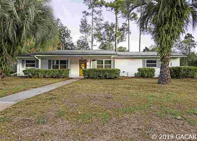 Gainesville Single Family Home For Sale: 2118 NW 28th Place