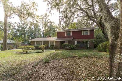 Gainesville Single Family Home For Sale: 3021 NW 10th Place
