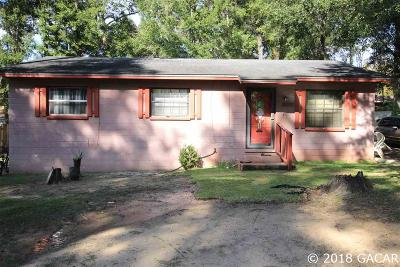 Alachua Single Family Home For Sale: 14326 NW 156th Place