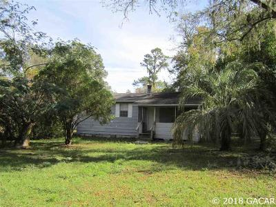 Gainesville Single Family Home For Sale: 10207 N State Rd 121